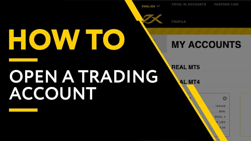 Open A Trading Account Exness